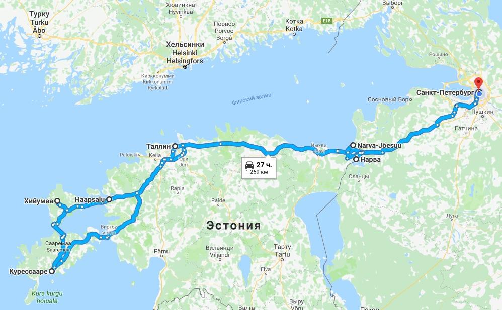 Новогодний SPA вояж в Эстонию от компании ИНТУРИСТ